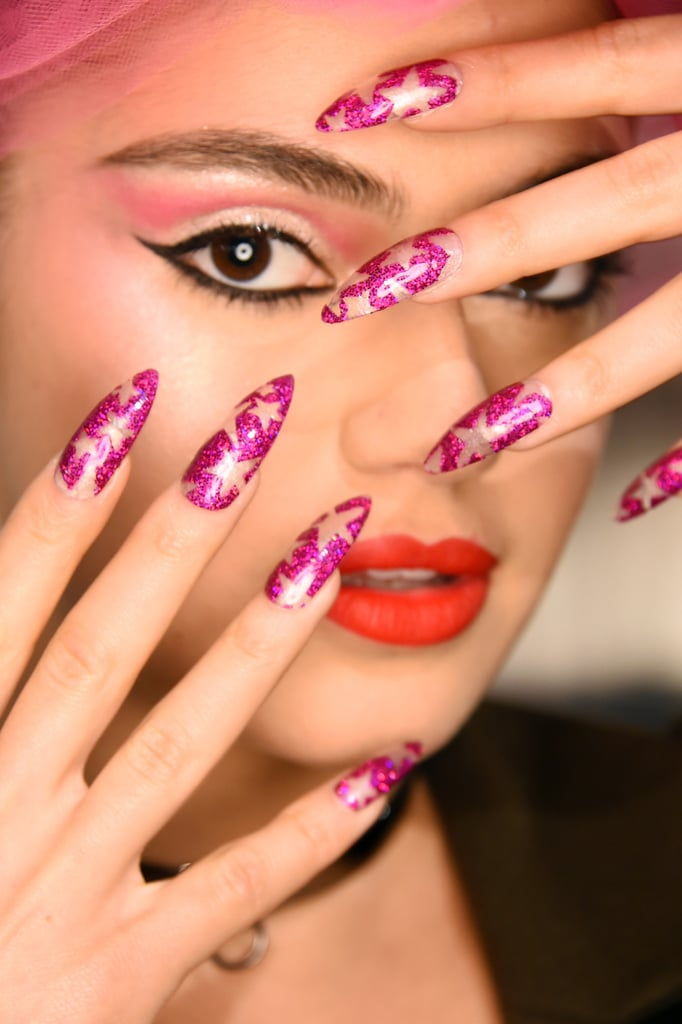 The Blonds Nail Art Fall 2016 | POPSUGAR Beauty