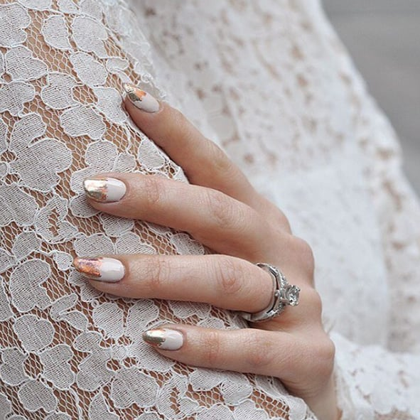 Chic Wedding Nail Art Ideas Popsugar Beauty