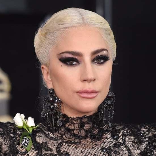 Lady Gaga Hair and Makeup Grammys 2018