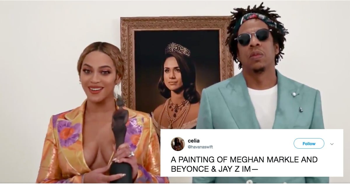 The Internet Is Fully Spiraling After Beyoncé and JAY-Z's Meghan Markle Moment at the Brit Awards