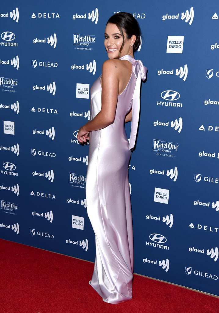 0033db3baac Lea Michele Dress at the GLAAD Media Awards 2019. I Just Paused For a Full  5 Minutes to Appreciate ...