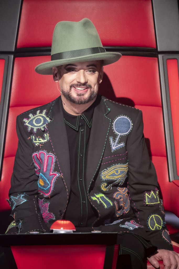 Who Is in Team George The Voice 2020?