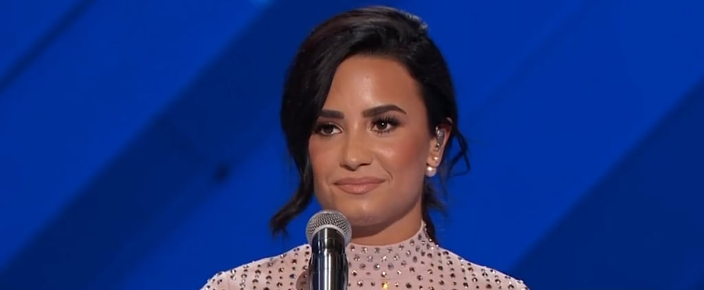 Demi Lovato's DNC Speech   Video
