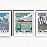 Harry Potter Poster Set ($22)