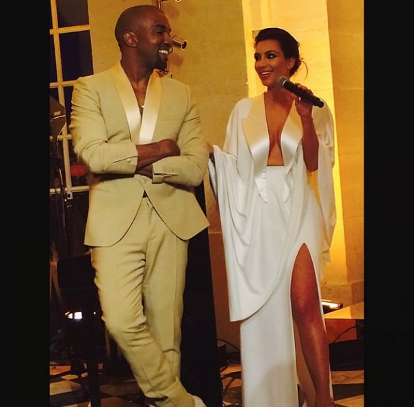 Kim Kardashian Wedding Dress | POPSUGAR Fashion