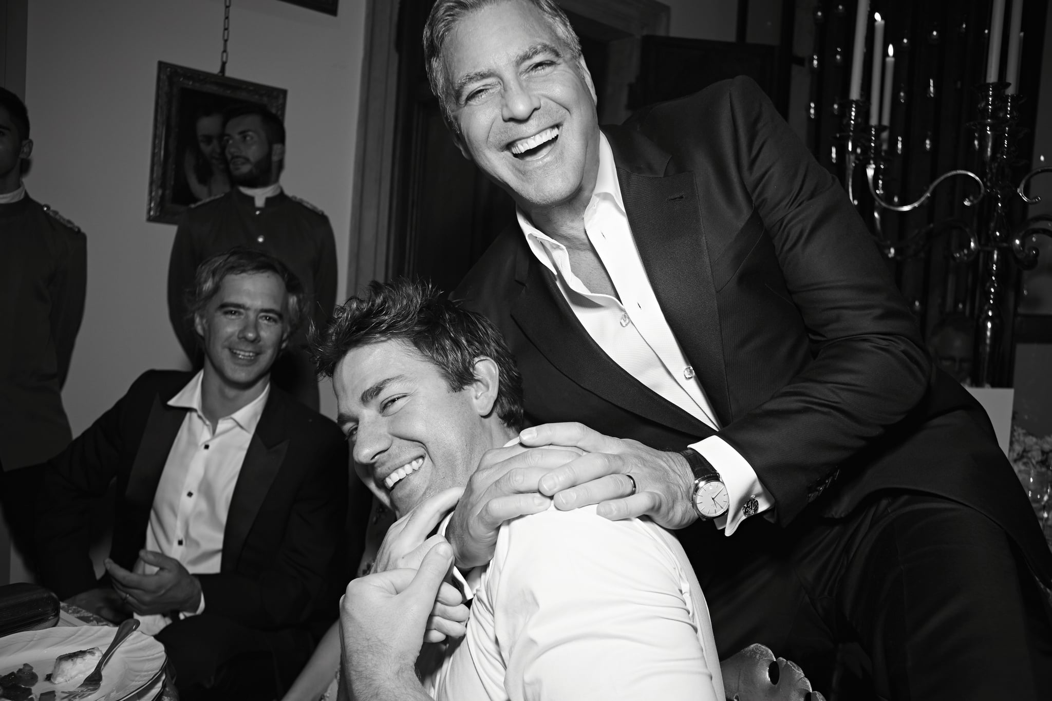 George Clooney Wedding Pictures With Amal Alamuddin Popsugar Celebrity
