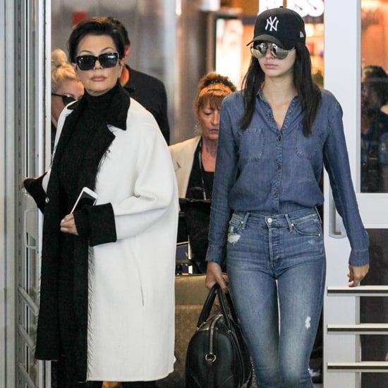 Celebrity Travel Style Before Met Gala 2015