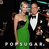 Charlize Theron and Tom Hanks at the 2020 Golden Globes
