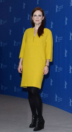 Julianne Dazzles in Yellow
