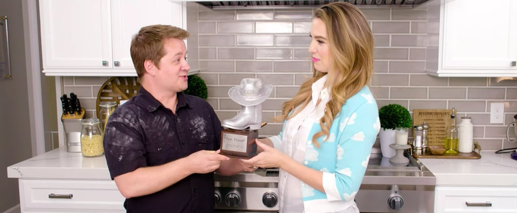 Jason Earles Makes Cheese Jerky on Christy's Kitchen Video