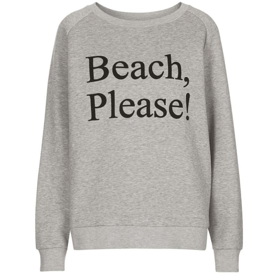 Topshop x Ashish Beach Please Jumper