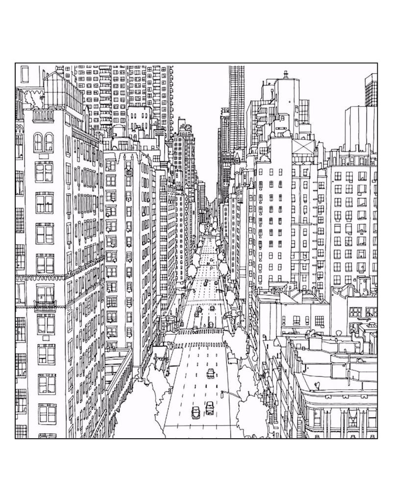 coloring pages city wildlife - photo#34