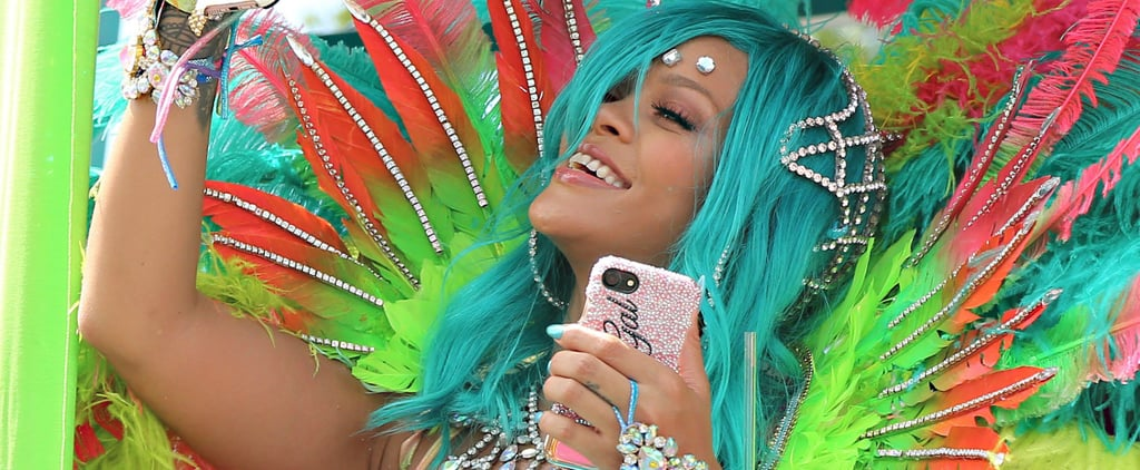 A Nearly Naked Rihanna Shines Bright Like a Diamond at Barbados's Crop Over Festival
