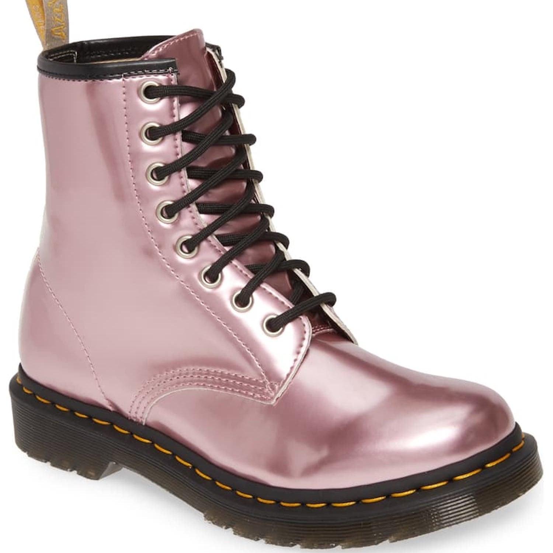 Dr. Martens Pink Boots | POPSUGAR Fashion