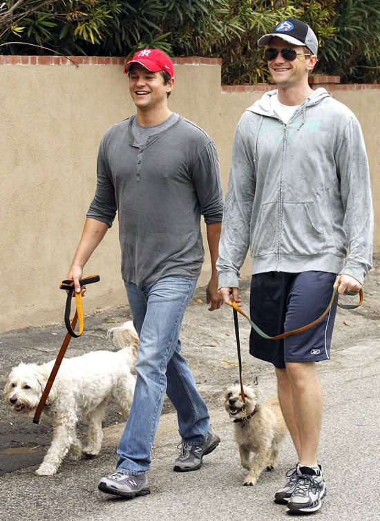 Pictures of NPH and David Burtka