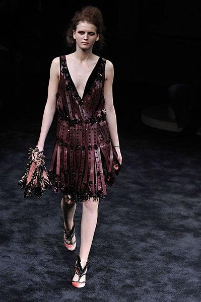 Miuccia Prada Brings Out the Fight for Fall 2009