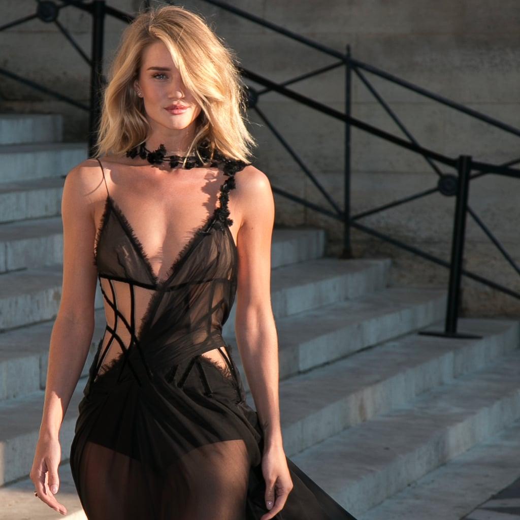Rosie Huntington-Whiteley Versace Dress | POPSUGAR Fashion