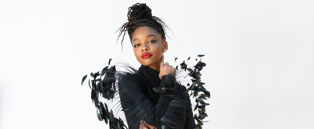 Marsai Martin's Black Dress at the 2021 NAACP Image Awards