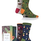 Sockshop Mens 4-Pair Bamboo and Organic Cotton Gift Boxed Socks