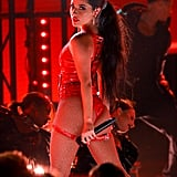 """Becky G Performing """"Mala Santa"""" at the Latin AMAs"""
