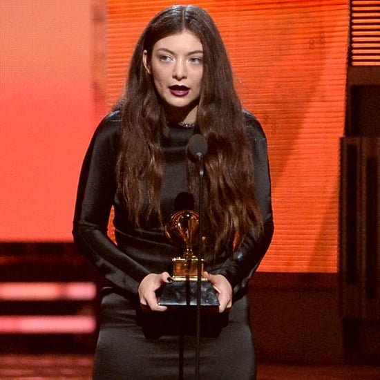 Lorde Dress at Grammys 2014