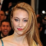 Actress Sarah Gadon rocked a natural look on the red carpet for The Sapphires at Cannes. We loved her pink lip against her icy blue eyes. Try Mimco's lipstick in Lollipop ($25).