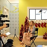 Lauren Conrad hosts a holiday event at Kohl's.