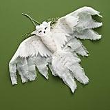Fauna Lune Snowy Owl Ornament