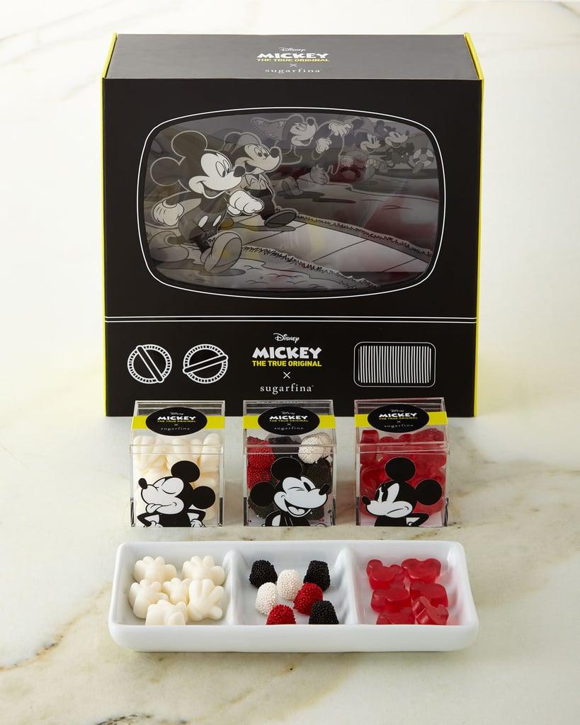 Sugarfina Disney Mickey Mouse Collector 3 Piece Candy Bento Box