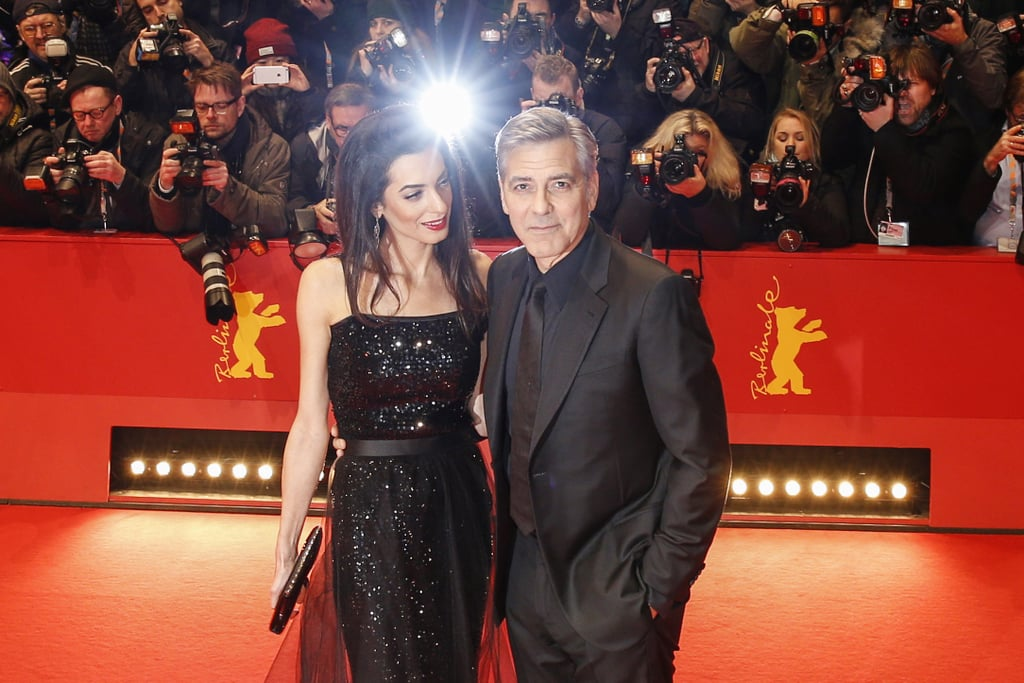 George and Amal looked like the epitome of #relationshipgoals while attending the 2016 Berlin International Film Festival.