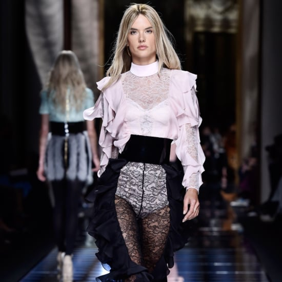 Alessandra Ambrosio Is Blond For Balmain Runway Fall 2016