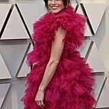 Linda Cardellini Pink Dress Oscars 2019
