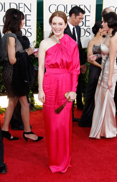 Julianne Moore + fuchsia Lanvin = divine. Enough said.