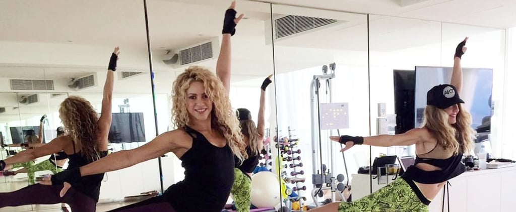 How Shakira Stays So Damn Fit, According to Her Instagram