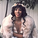 Donna Summer poses in 1976.