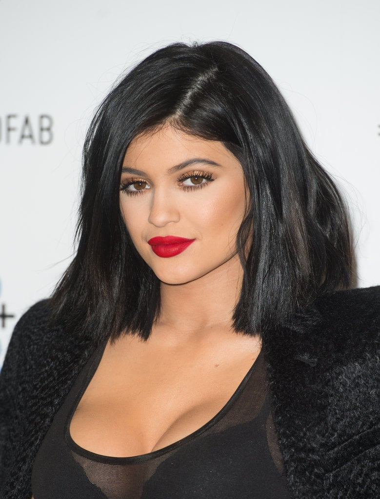 Kylie Lip Stain: Celebrity Beauty: Kylie Jenner Lips Lipstick And Lip Liner