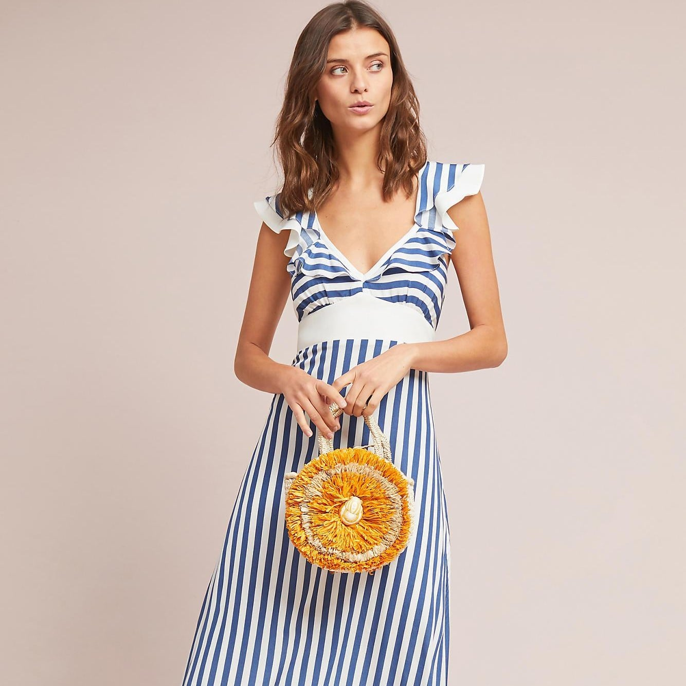 5f62c33b01f Topshop Cutabout Stripe Midi Dress