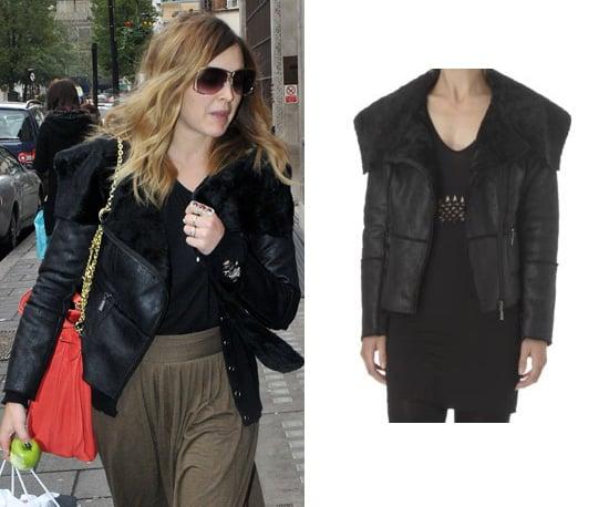Get Fearne Cotton's Black Aviator Jacket