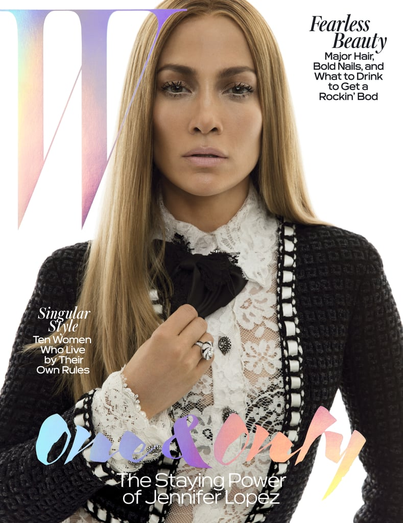 Jennifer Lopez Is Basically Staring Into Our Souls on Her W Magazine Cover