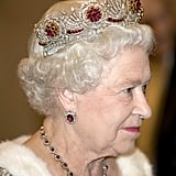 Queen Mary's Ruby Earrings