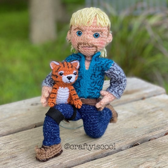 Tiger King's Joe Exotic Crochet Pattern on Etsy