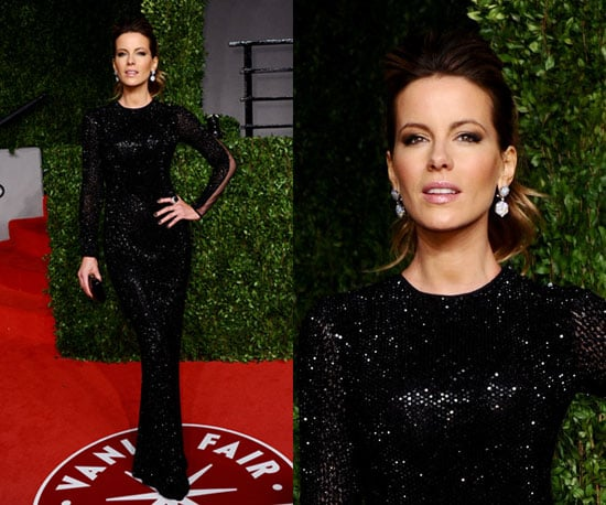 Kate Beckinsale in head to toe sequins at Oscars 2011