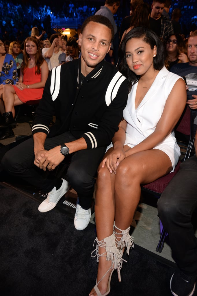 It was date night at the TCAs for Stephen and Ayesha Curry in 2015.