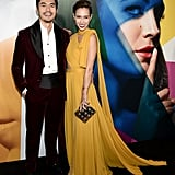 Henry Golding and His Wife Liv Lo at A Simple Favour Premiere