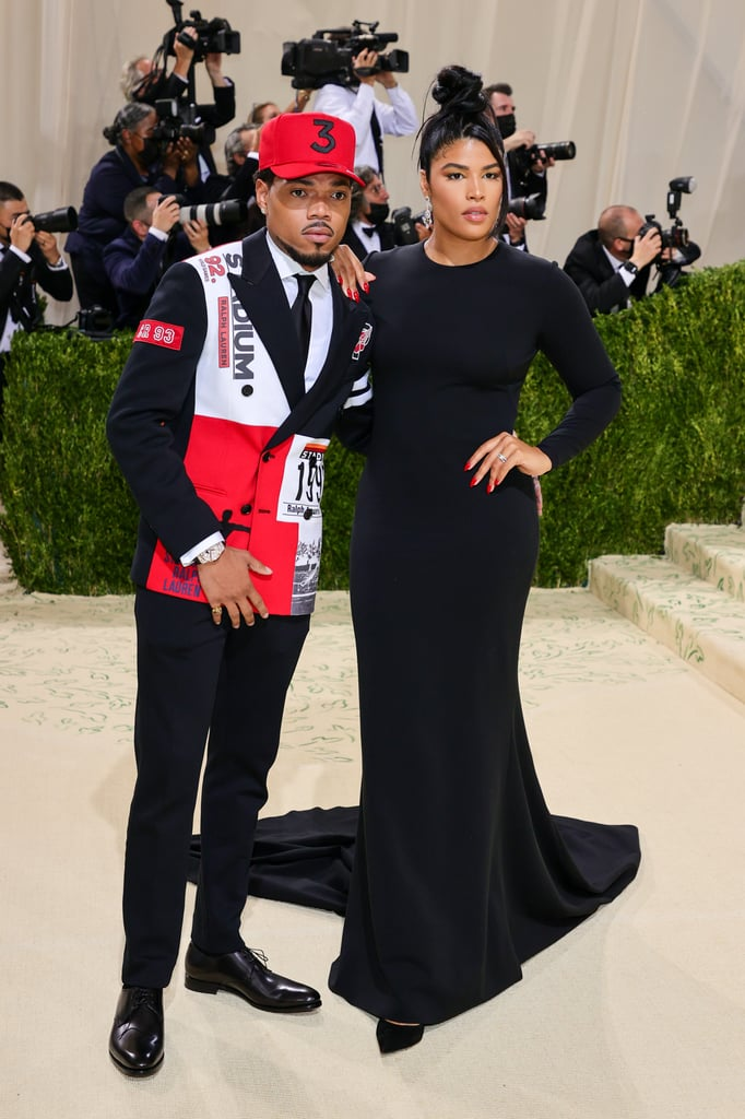 Chance the Rapper and Kirsten Corley at the 2021 Met Gala