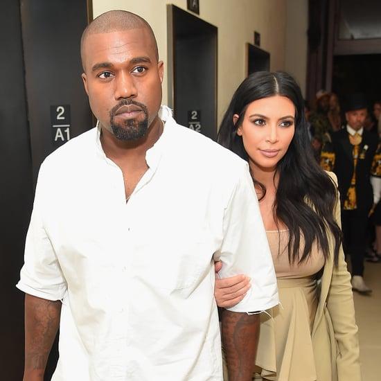 Kim Kardashian and Kanye West in NYC September 2015