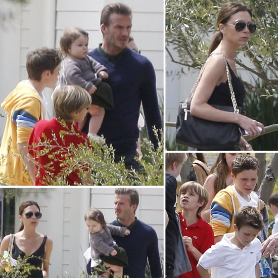 David and Victoria Celebrate Easter With Harper, Their Boys, and the Ramsays
