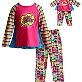Superhero Top & Bottoms Pajama Set