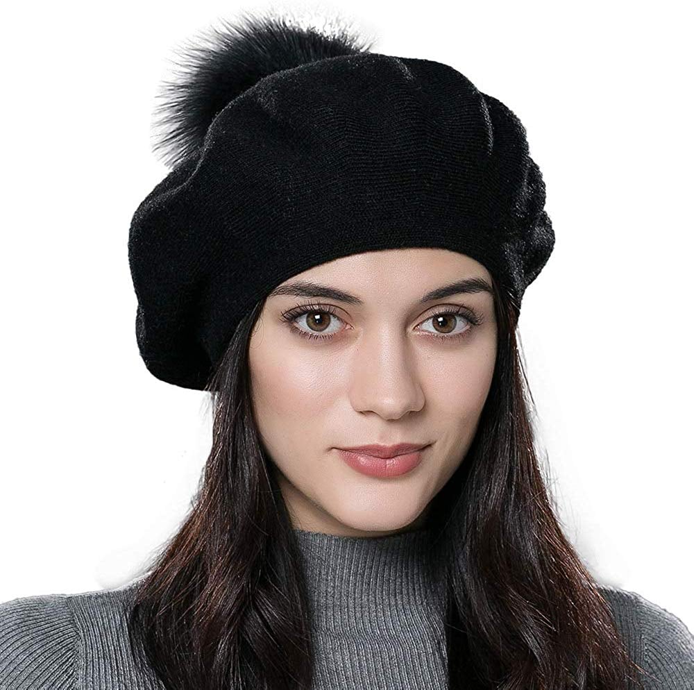 Winter French Beret Hat