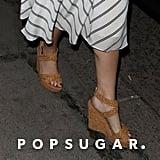 3e39afce066 ... Princess Eugenie Braided Wedge Sandals ...